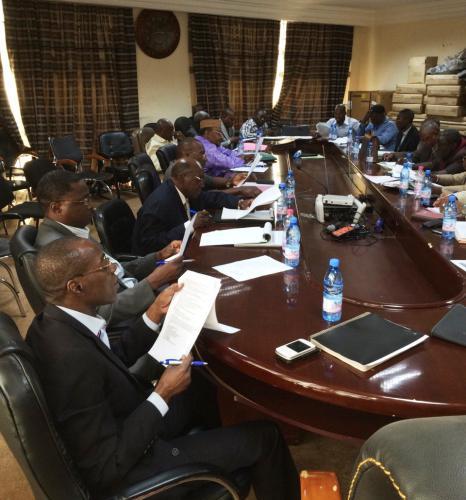 Conférence-Débat universitaire sur la mise en oeuvre du processus ITIE au Mali à la Faculté des Sciences Economiques et de Gestions.